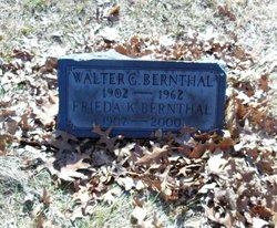 Walter G Bernthal