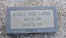 Harriett Luella <i>Todd</i> Carter