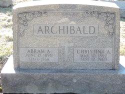 Abram Alfred Archibald