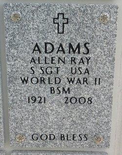Allen Ray Adams