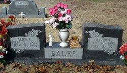 Alice Clara <i>Willard</i> Bales