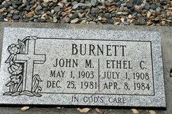 Ethel C Burnett