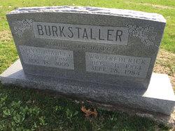 Sylvia Alice <i>Hanley</i> Burkstaller