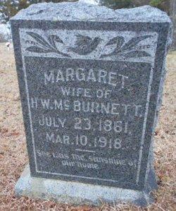 Margaret C <i>Brown</i> McBurnett