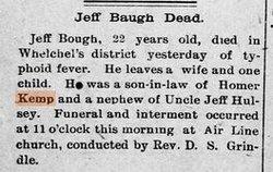 James Jefferson Jeff Baugh