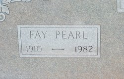 Fay Pearl <i>Allen</i> Adams