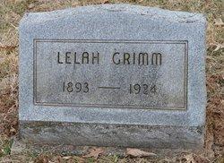 Lelah Jane <i>Conaway</i> Grimm
