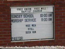 Free Union Free Will Baptist Church