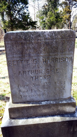 Bettie G. <i>Harrison</i> Thorp