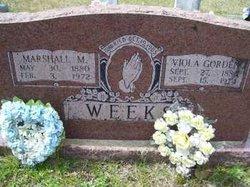 Viola <i>Gordon</i> Weeks