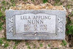 Lela <i>Appling</i> Nunn