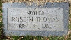 Rose M. <i>Beemer</i> Thomas