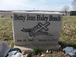 Betty Jean <i>Haley</i> Bonds