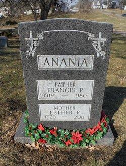 Francis P Anania, Sr