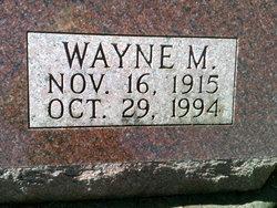 Lieut Wayne Maurice Fetters