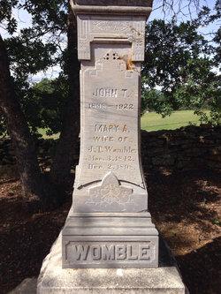John Thomas Womble