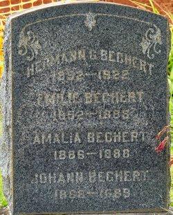 Emilie <i>Ruething</i> Bechert