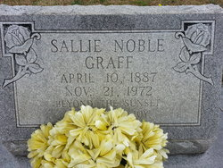 Sallie <i>Noble</i> Graff