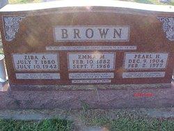 Emma M. <i>Black</i> Brown