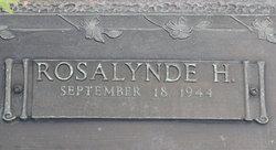 Rosalynde H. Cook