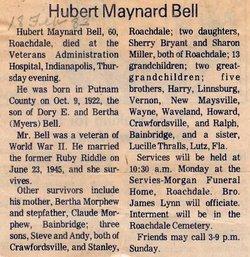 Hubert M Bell