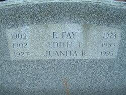 Everett Fay Bishop