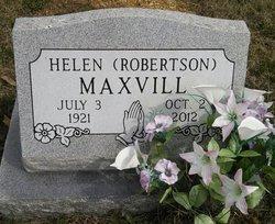 Helen Marie <i>Robertson</i> Maxvill