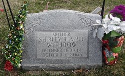 Shirley <i>Temple</i> Withrow