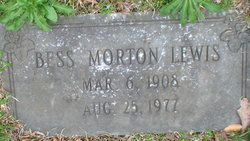 Bess Morton <i>Lewis</i> Allen