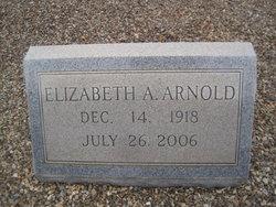 Elizabeth <i>Arthur</i> Arnold