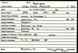 Frank Shattuck Gray