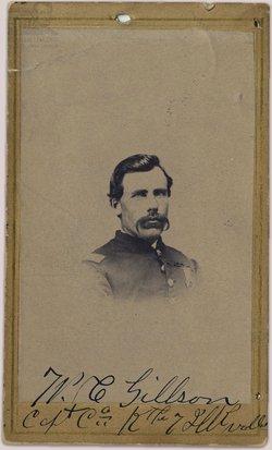 Capt William Cook Gillson