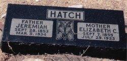Elizabeth Christina <i>Winn</i> Hatch