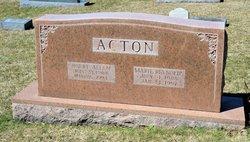 Marie <i>Reynolds</i> Acton