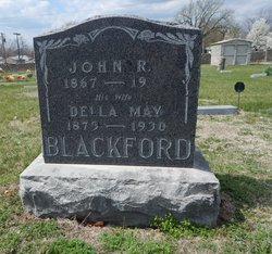 Della May <i>Jones</i> Blackford
