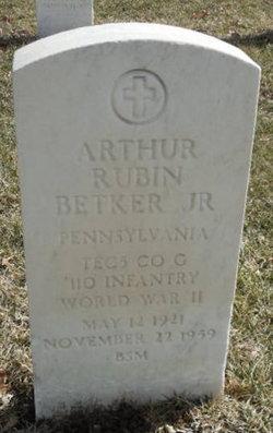Arthur Rubin Betker, Jr