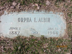 Orpha Ethel <i>Mathias</i> Albin
