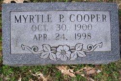 Myrtle <i>Pate</i> Cooper