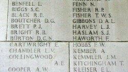 Sgt Albert Edward Collingwood
