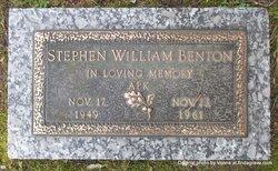 Stephen William Benton