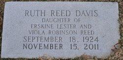 Ruth <i>Reed</i> Davis
