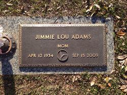 Jimmie Lou <i>Hedgpeth</i> Adams