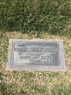 Virginia Shirley <i>Ueberroth</i> Richter