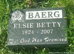 Elsie Betty <i>Bergmann</i> Baerg