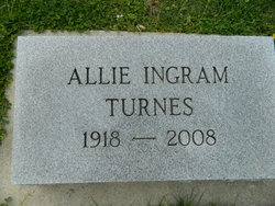 Allie <i>Ingram</i> Turnes