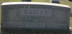 Eliza <i>Nunn</i> Bailey