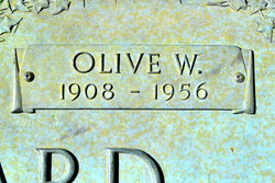Olive <i>Woolstenhulme</i> Stoddard