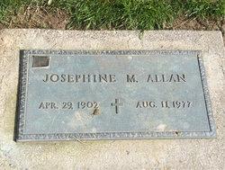 Josephine May <i>Ellwood</i> Allan