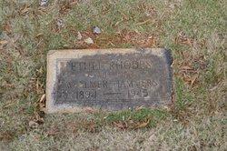 Ethel Netta <i>Rhodes</i> Hammers