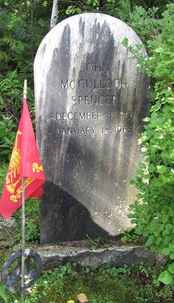 John McCulloch Spencer
